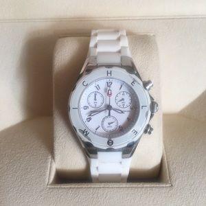 🥰 Michele White Tahitian Jelly Watch